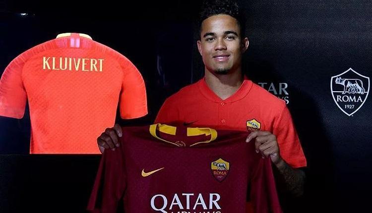 Клуйверт е играч на Рома