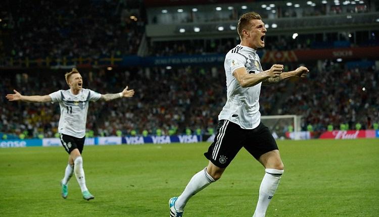Германия победа Швеция с 2:1