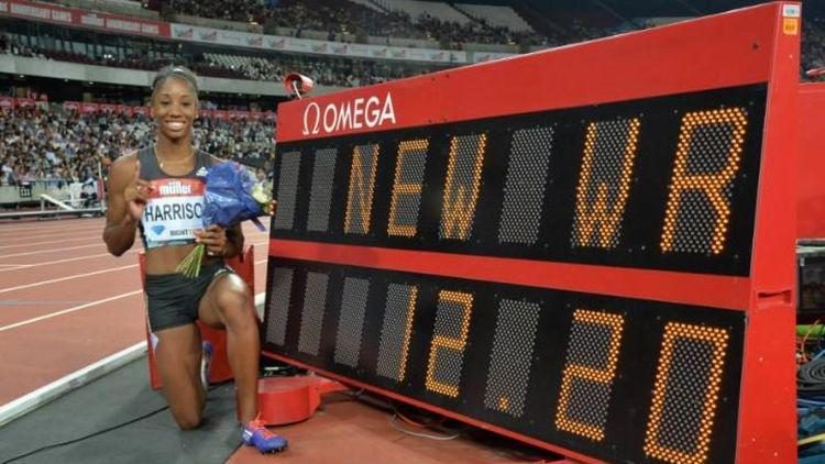 kendra harrison world record