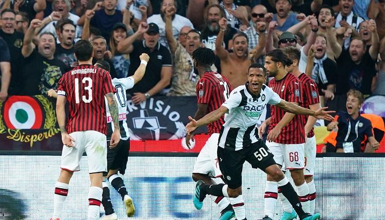 Фалстарт за Милан в Серия