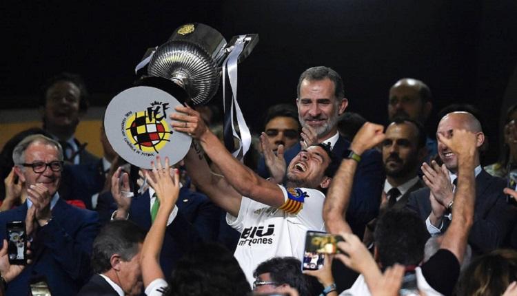 Валенсия спечели за осми път Купата на Краля
