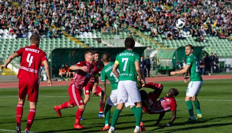 Берое и ЦСКА завършиха наравно 1:1