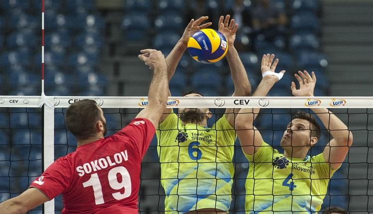 България категорично преодоля Словения за второто място в група C на Евроволей