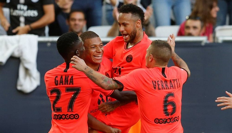 Пари Сен Жерменпобеди Бордо с 1:0
