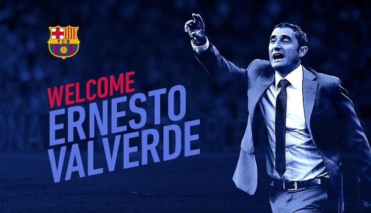 Ерненсто Валверде е новият треньор на Барселона